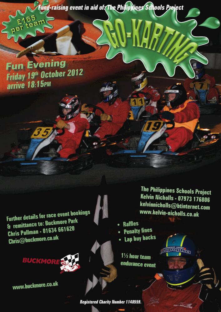 Karting flyer 19th October 2012